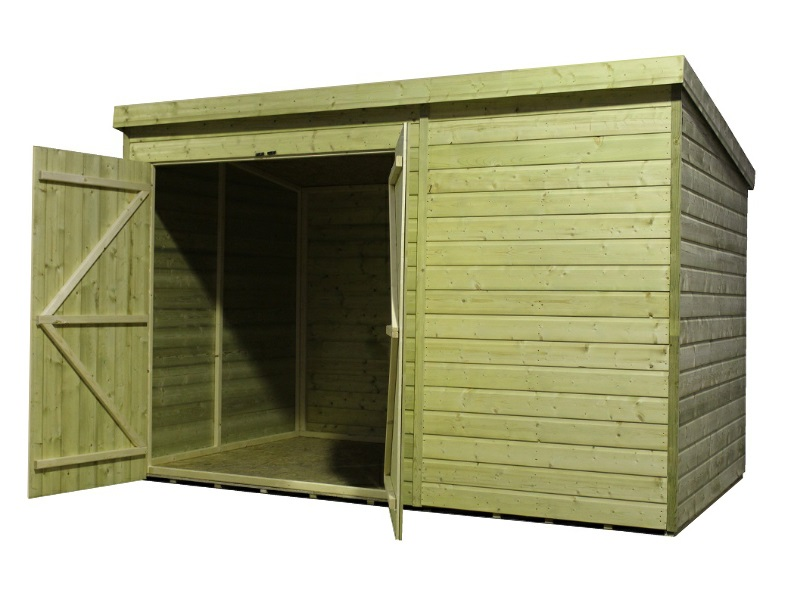 Double Hung Shed Doors